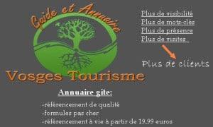 Annuaire gite Vosges Alsace-Lorraine