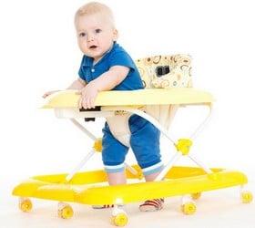 avantages trotteur pour bébé