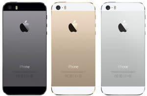 iPhone SE et 5