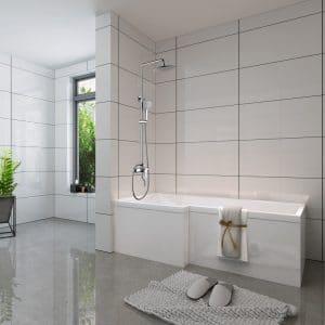 Colonne douche pour baignoire