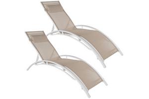 Test et avis sur le bain de soleil pour piscine en aluminium TecTake 800675